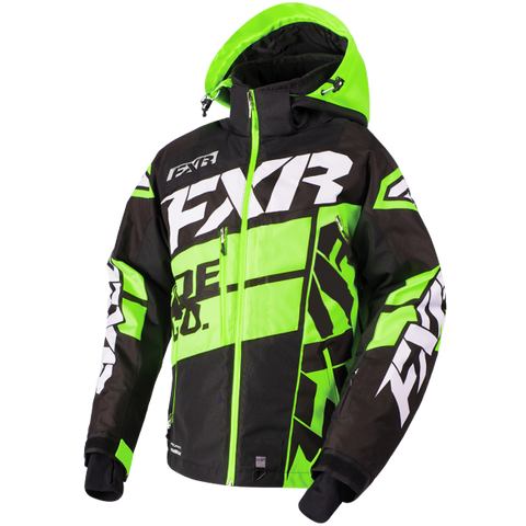 FXR Boost X Mens Jacket Black/Lime