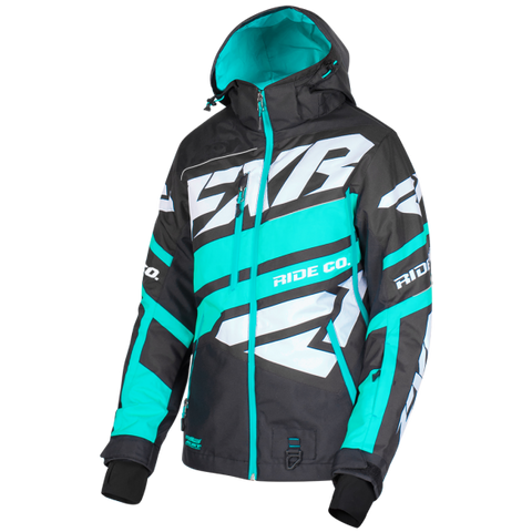 FXR Boost X Womens 2019 Jacket Black Mint