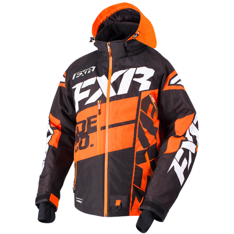 FXR Boost X Mens Jacket Black/Orange