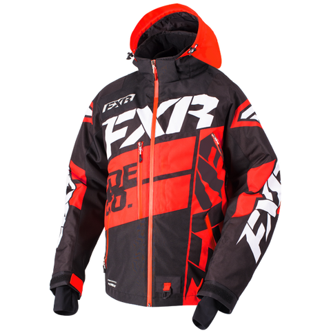 FXR Boost X Mens Jacket Black/Red