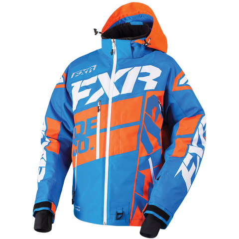 FXR Boost X Mens Jacket Blue/Orange