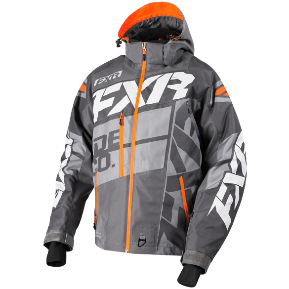 FXR Boost X Mens Jacket Charcoal/Orange
