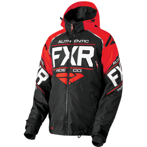 FXR Clutch Mens Jacket Black/Red/White