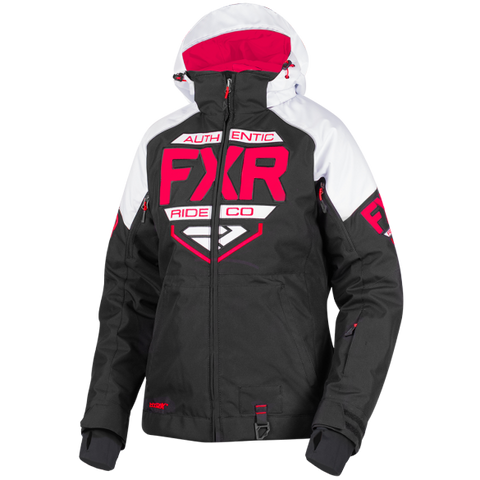 FXR Clutch Womens 2019 Jacket White Coral