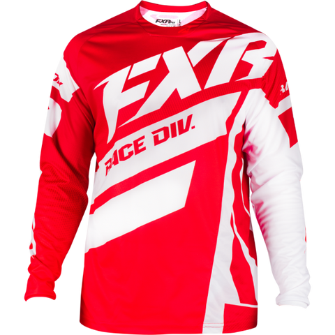 FXR Clutch Podium MX 19 Jersey Red