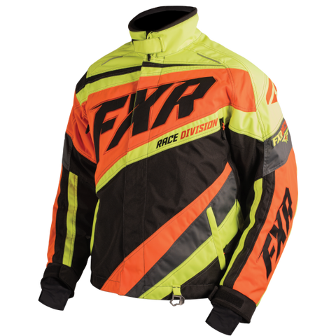 FXR Cold Cross Mens Jacket Black/Orange/Hi Vis