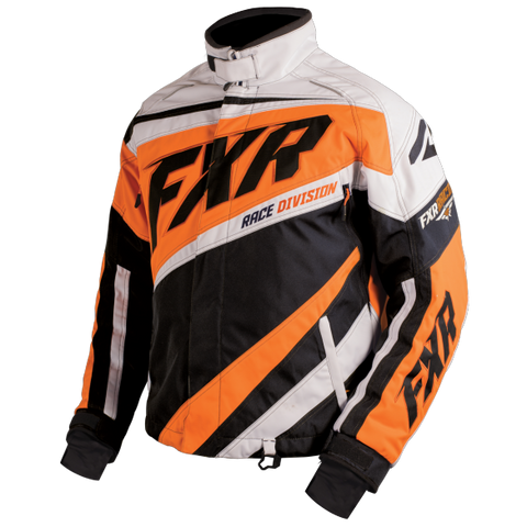 FXR Cold Cross Mens Jacket Black/Orange/White