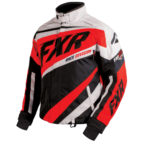 FXR Cold Cross Mens Jacket Black/Red/White