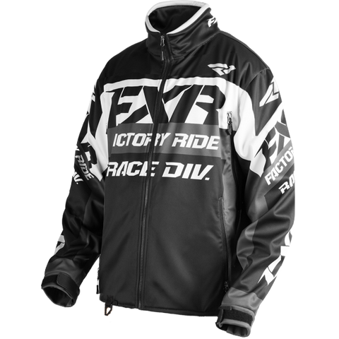 FXR Cold Cross Race Ready 2018 Jacket Black/White/Charcoal