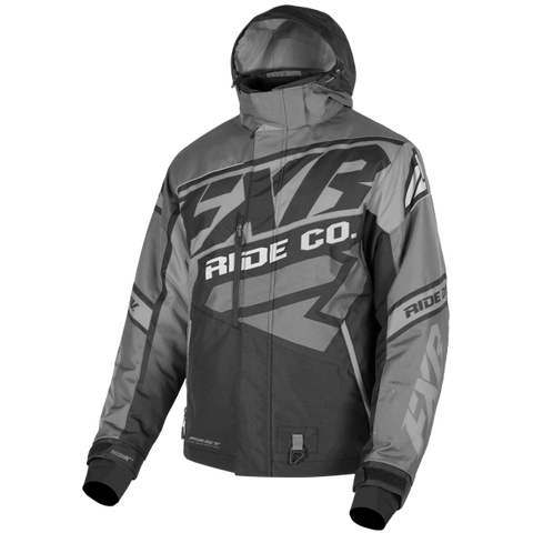 FXR CX 19 Mens Jacket Black Grey