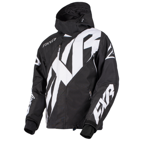FXR CX Snowmobile Jacket Black/White