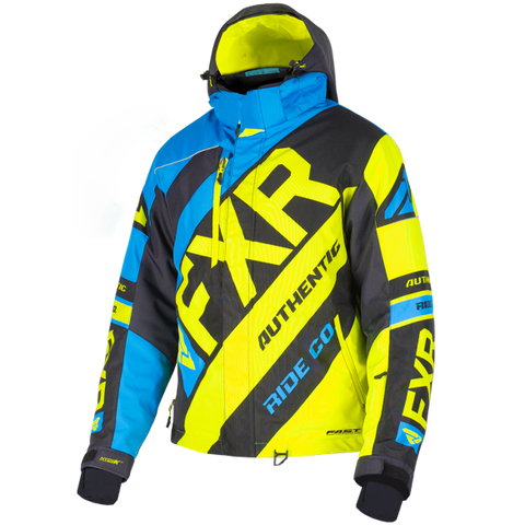 FXR CX 19 Mens Jacket Blue HiVis