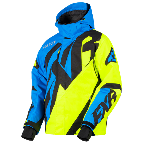 FXR CX Snowmobile Jacket Blue/HiVis
