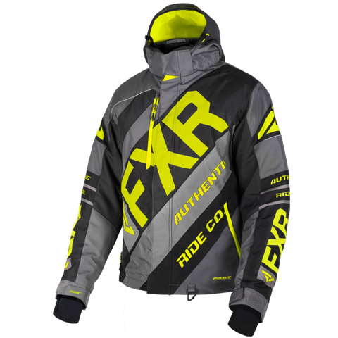 FXR CX 19 Mens Jacket Char HiVis