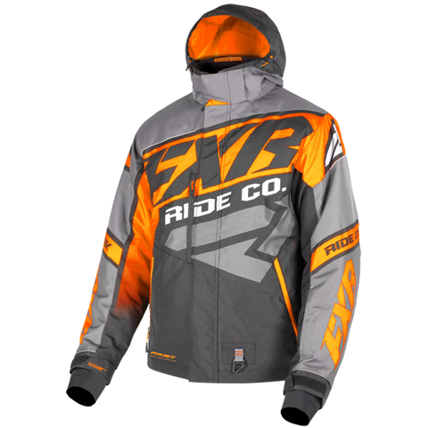 FXR CX 19 Mens Jacket Charcoal Orange