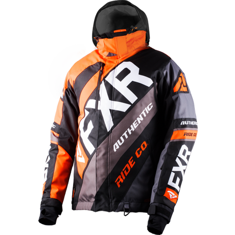 FXR CX 19 Mens Jacket Orange Black