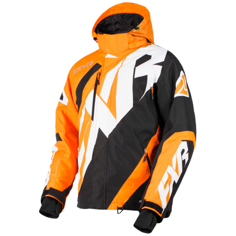 FXR CX Snowmobile Jacket Orange/Black/White