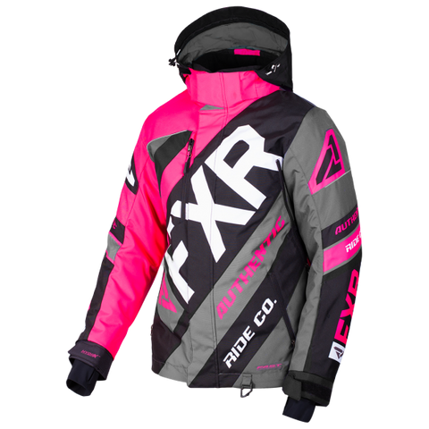 FXR CX Womens 2019 Jacket Fuchsia Black