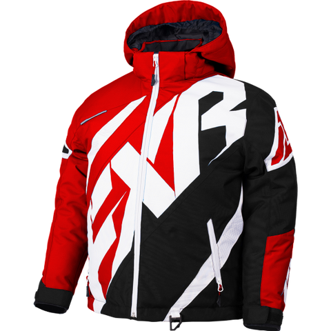 FXR CX Youth Jacket Red/Black/White