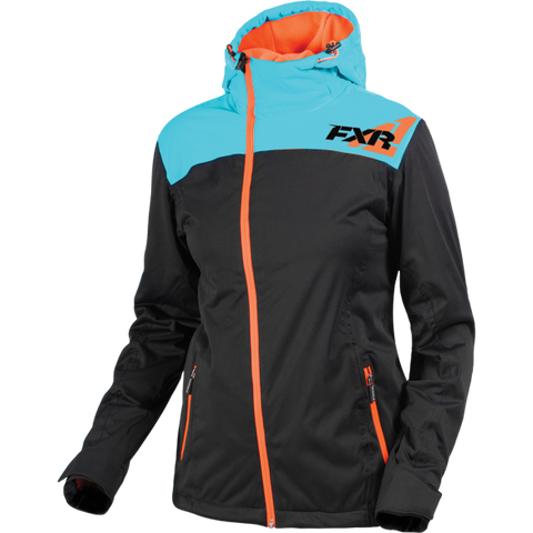 FXR Diamond Dual Laminate Womens Aqua/ElecTang