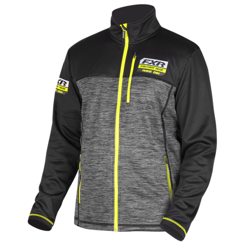 FXR Elevation Tech Zip 2019 Charcoal HiVis