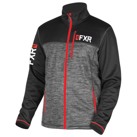 FXR Elevation Tech Zip 2019 Charcoal Red