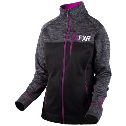 FXR Elevation Womens Tech Zip 2019 Black Berry