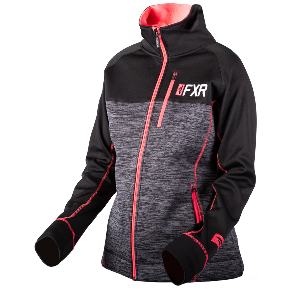 FXR Elevation Womens Tech Zip 2019 Heather Coral