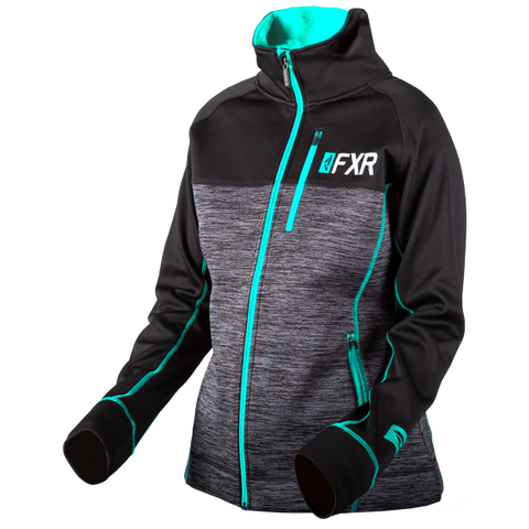 FXR Elevation Womens Tech Zip 2019 Heather Mint