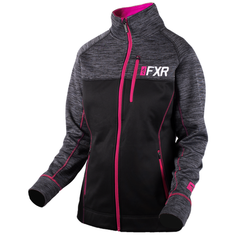 FXR Elevation Womens Tech Zip 2019 Black Fuch