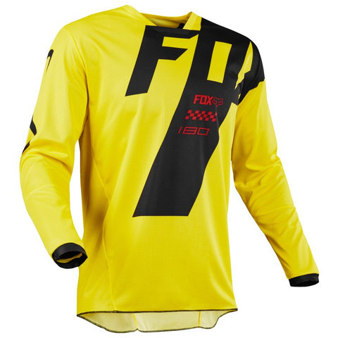 Fox Racing 180 Youth Mastar Jersey 2018 Yellow f97a41239