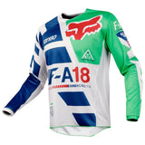 Fox Racing 180 Youth Sayak Jersey 2018 Green