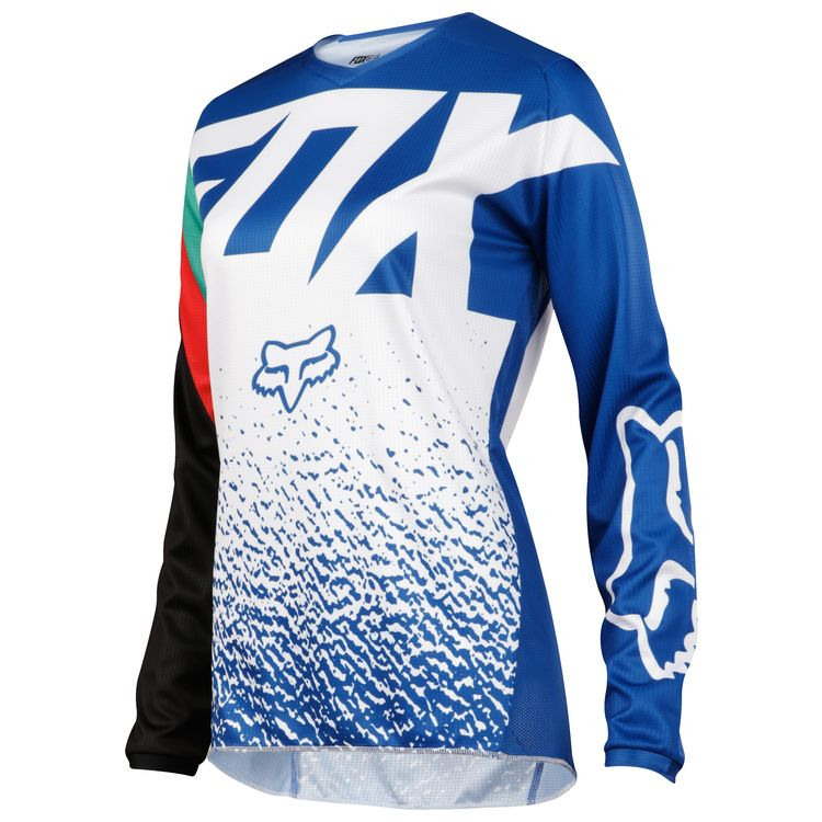 7238bdb0 Fox Racing 180 Womens Jersey 2018 Blue