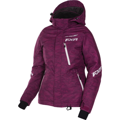 FXR Fresh Womens Jacket Berry