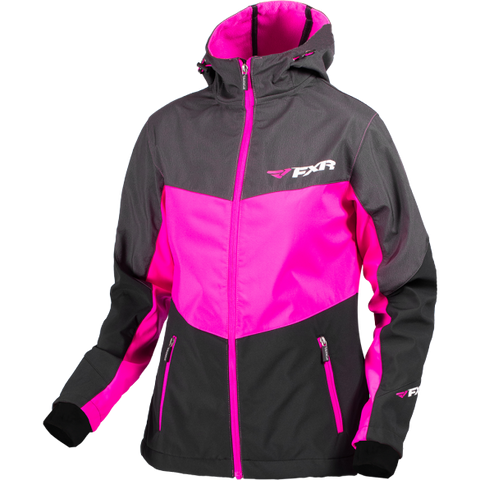 FXR Fresh Womens Softshell Black/Fuchsia