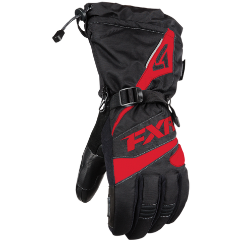 FXR Fuel Glove Black/Red