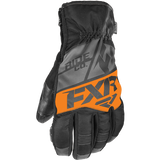 FXR Fuel Short Cuff Glove Black Orange