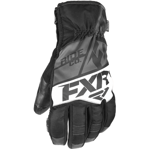 FXR Fuel Short Cuff Glove Black