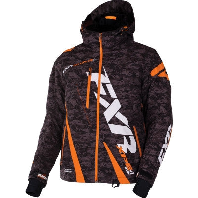 FXR Boost Jacket Black Grey/Digi/Orange