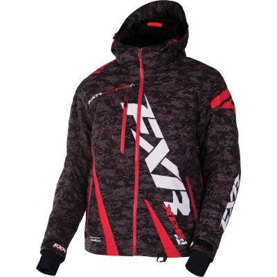 FXR Boost Jacket Black Gry/Digi/Red