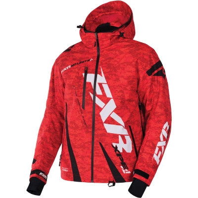 FXR Boost Jacket Black Red/Digi/Black