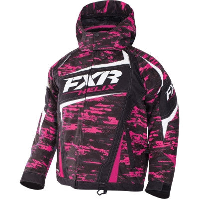 FXR Helix Youth Jacket Fuch/Char