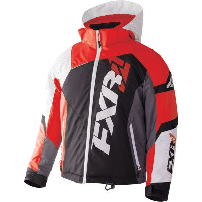 FXR Revo X Youth Jacket Blk/Wht/Red