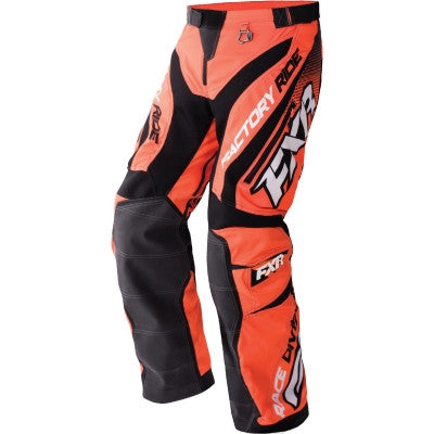 FXR Cold Cross Race Pant Org/Blk