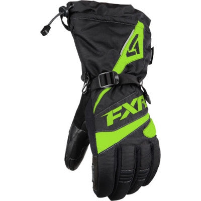 FXR Fuel Glove Black/Lime