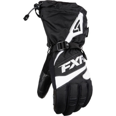 FXR Fuel Glove Black/White
