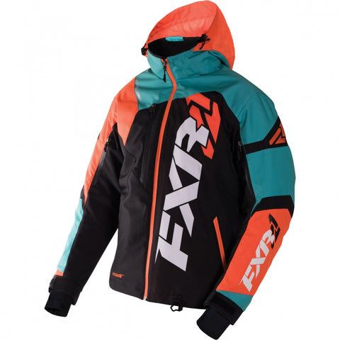FXR Revo X Mens Jacket Teal Orange