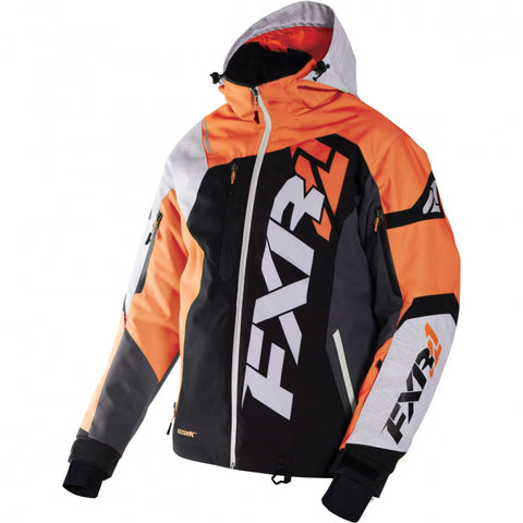 FXR Revo X Mens Jacket Black Orange