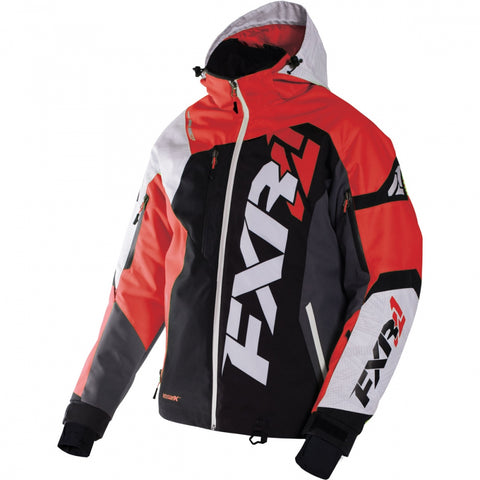 FXR Revo X Mens Jacket Black Red