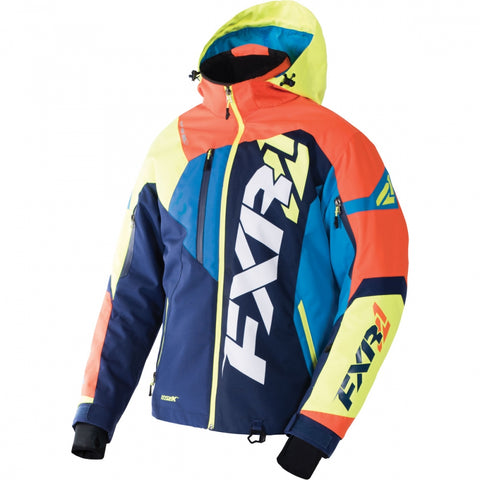 FXR Revo X Mens Jacket Black Orange Hi Vis